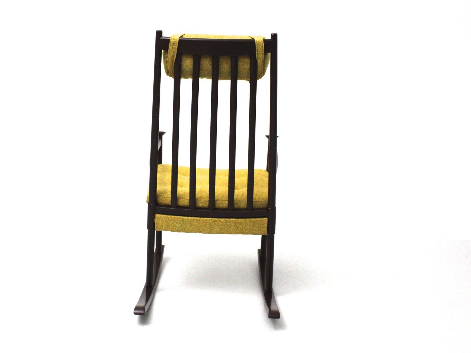 skandinavischer schaukelstuhl aus buchenholz 1960er bei. Black Bedroom Furniture Sets. Home Design Ideas