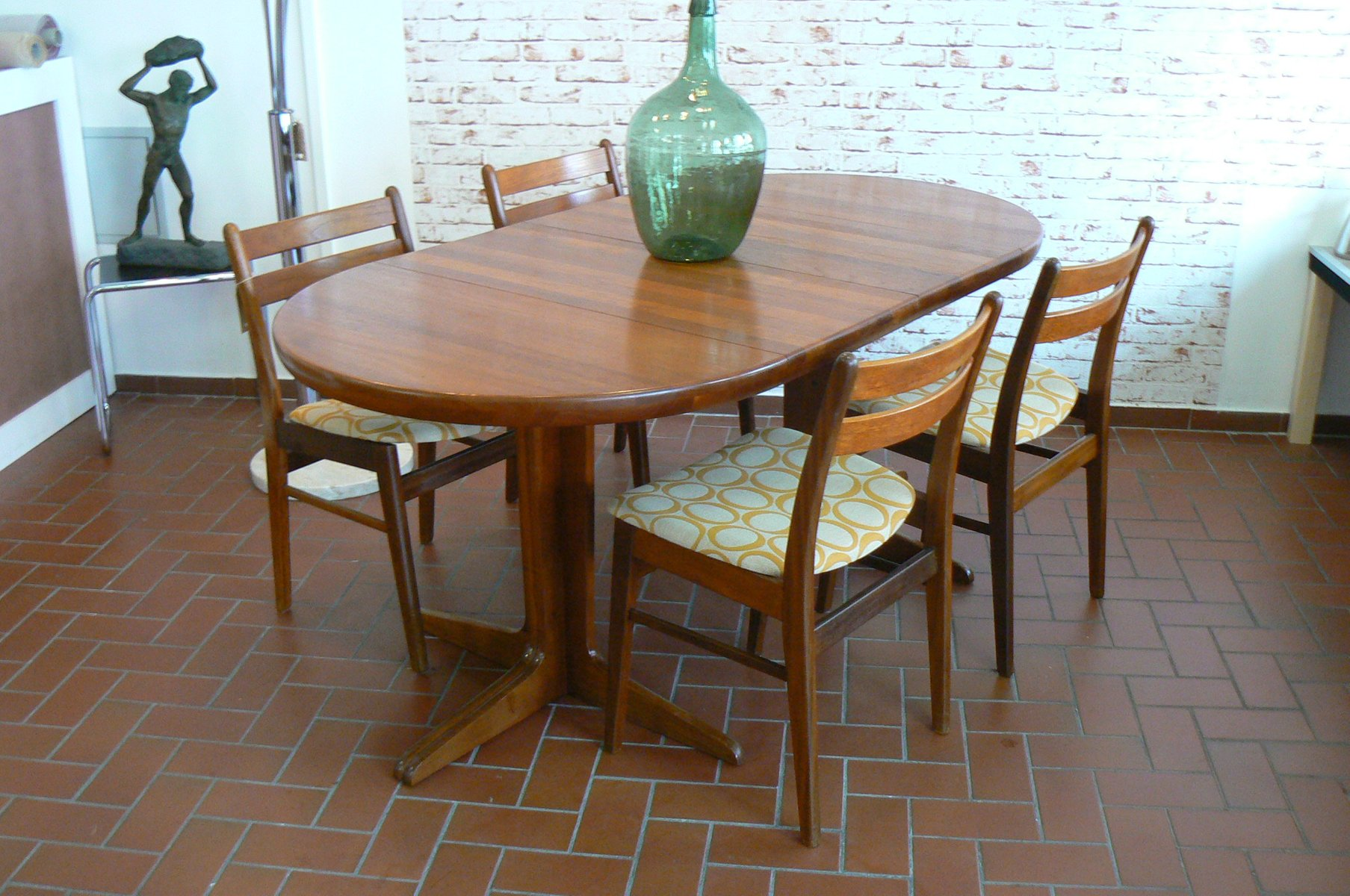 Danish Teak Dining Chairs 1970s Set Of 4 For Sale At Pamono