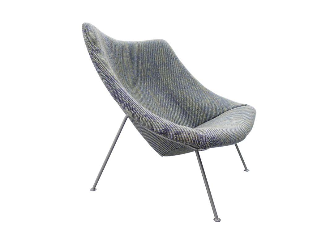 chaise oyster f157 par pierre paulin pour artifort 1960 en vente sur pamono. Black Bedroom Furniture Sets. Home Design Ideas