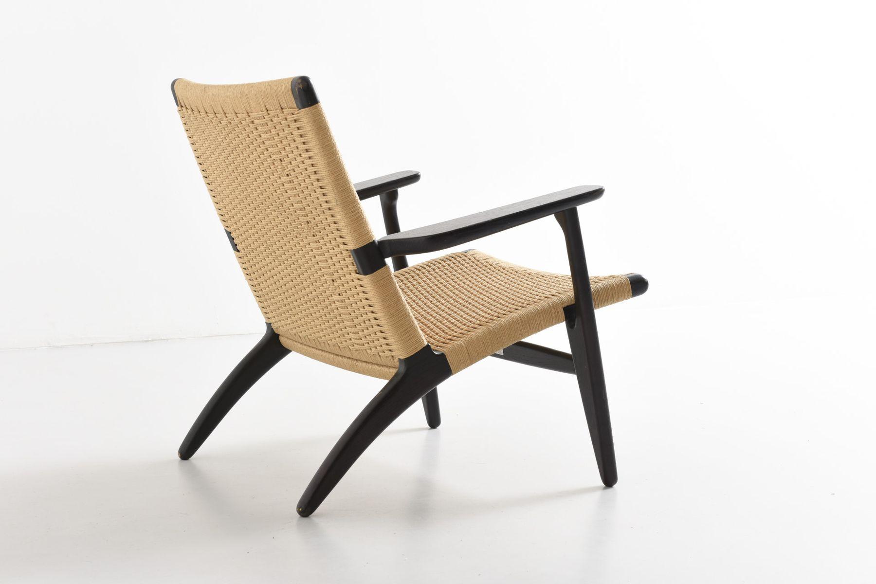 fauteuil ch25 par hans j wegner pour carl hansen s n en. Black Bedroom Furniture Sets. Home Design Ideas
