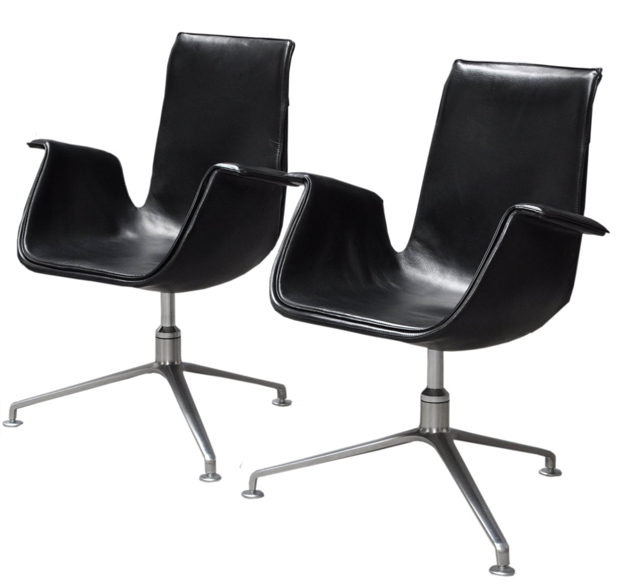 Model 6727 Tulip Chair By Preben Fabricius U0026 Jørgen Kastholm For Walter  Knoll, 1950s