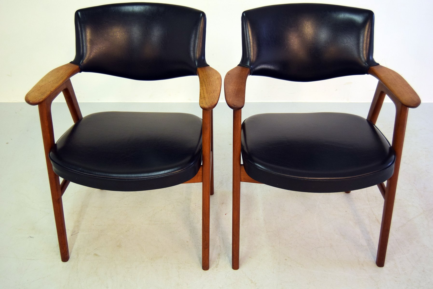 Mid century office chairs by erik kirkegaard for glostrup Mid century chairs
