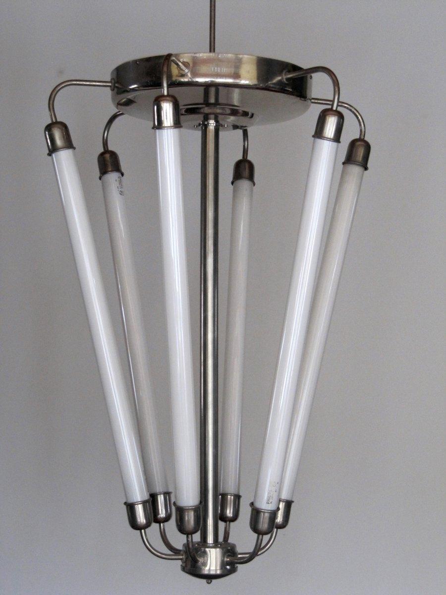 gro e lobby lampe im bauhaus stil 1940er bei pamono kaufen. Black Bedroom Furniture Sets. Home Design Ideas