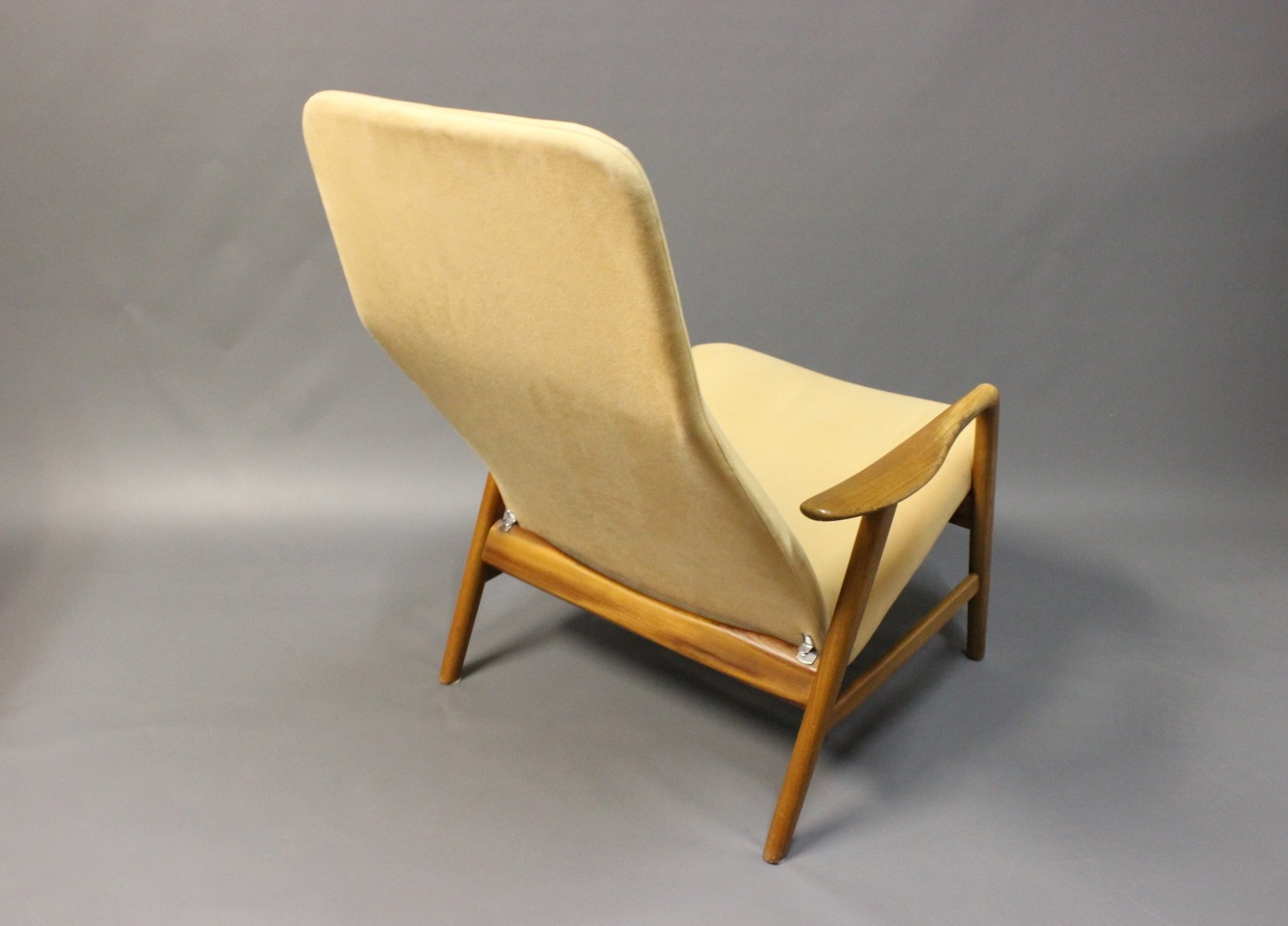 Highback Reclining Lounge Chair by Alf Svensson for Fritz Hansen