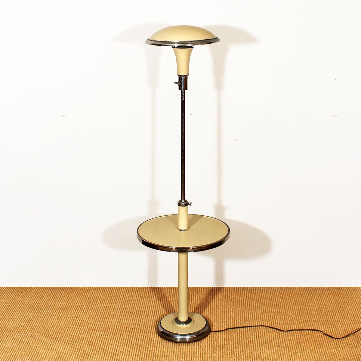 Art deco floor reading lamp 1930s for sale at pamono for Miroir art deco 1930