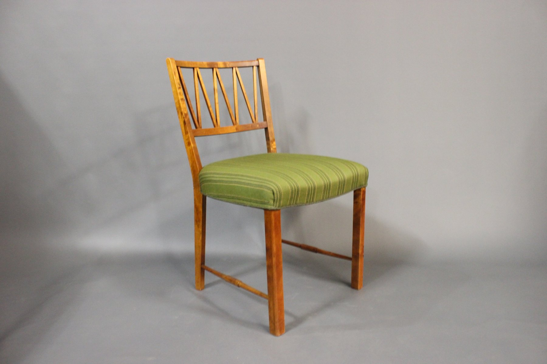 Danish Walnut Dining Chairs 1940s Set Of 6 For Sale At
