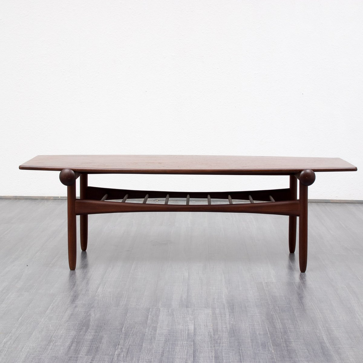 scandinavian style teak coffee table 1960s for sale at pamono