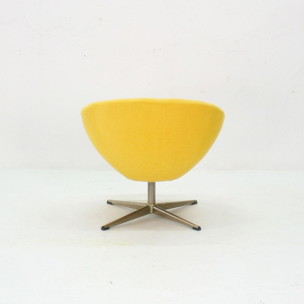 Yellow Lounge Chair 1970s for sale at Pamono