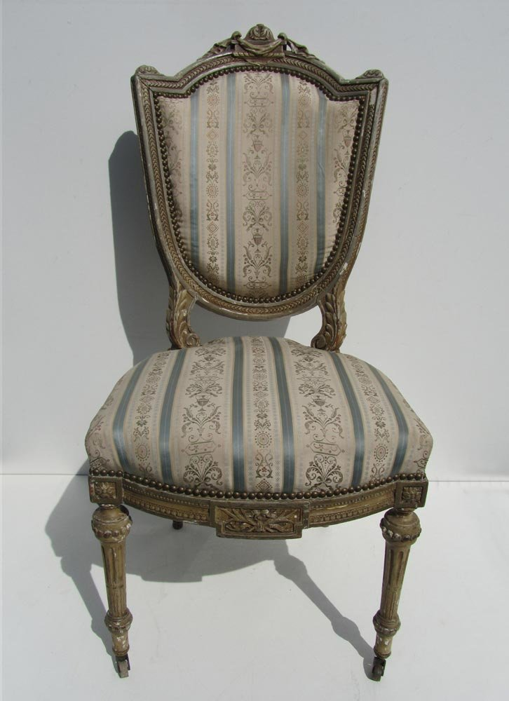 Old Wooden Chair Styles Antique Wooden Louis X...
