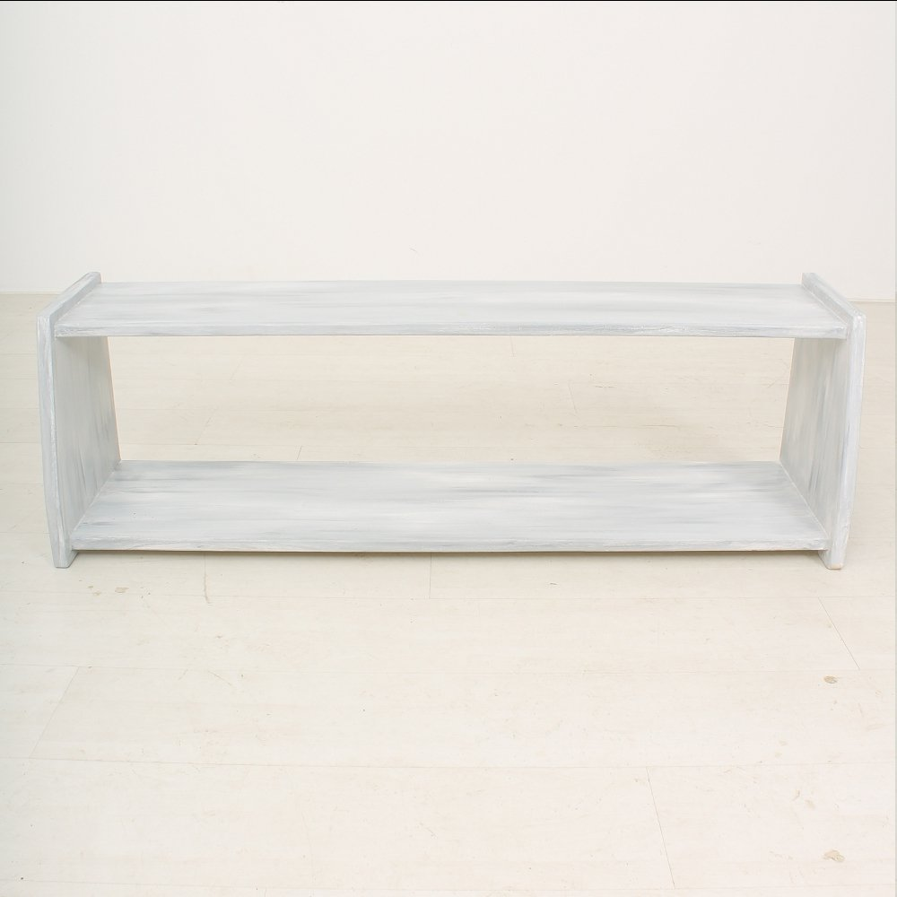 Vintage White Wooden Bench 1930 For Sale At Pamono