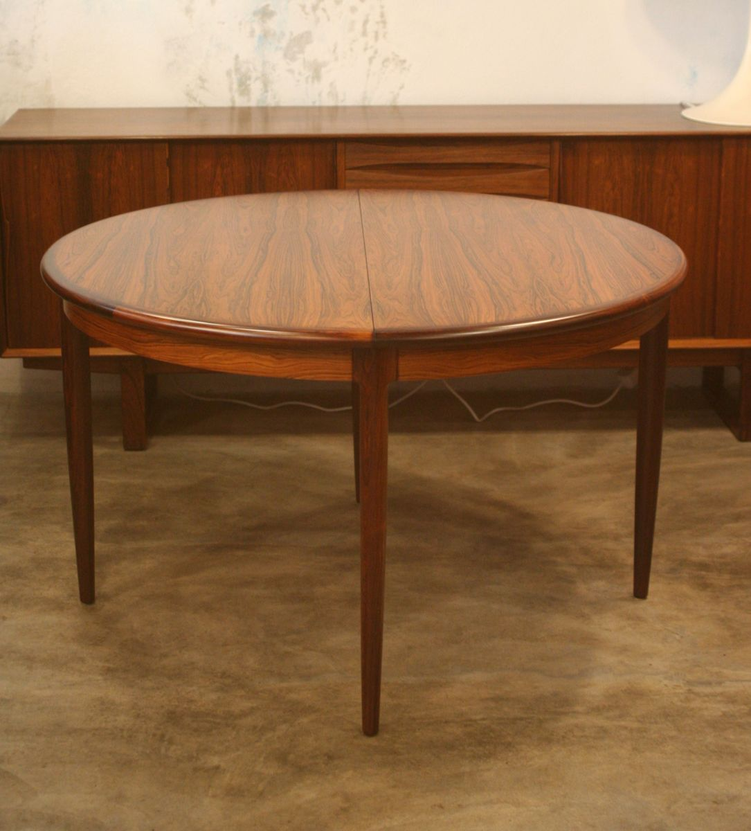 no dining table dining table no 1287 with 2 leaves by harvey probber at 1stdibs dining room