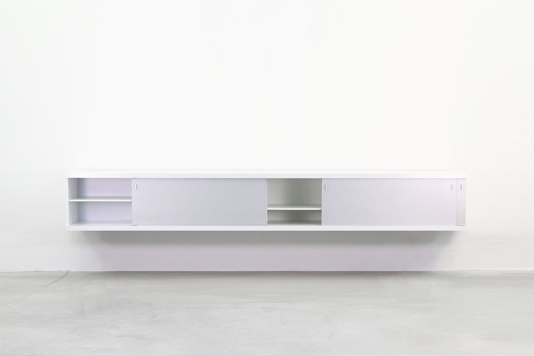 h ngendes sideboard von horst br ning f r behr 1967 bei pamono kaufen. Black Bedroom Furniture Sets. Home Design Ideas