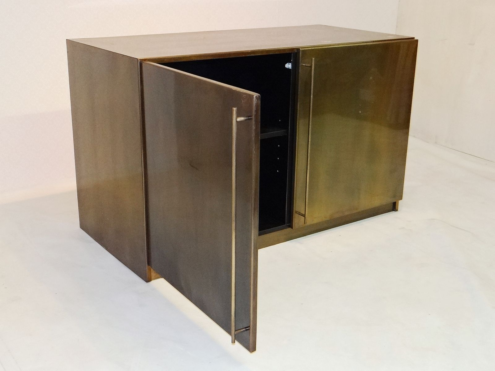 Vintage Copper And Metal Cabinet From Belgochrom For Sale At Pamono