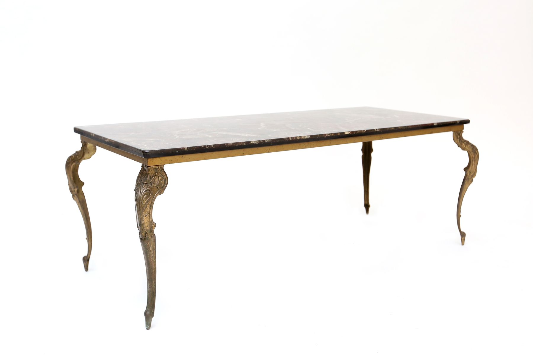 Table basse en marbre et granito italie 1950s en vente for Table en marbre