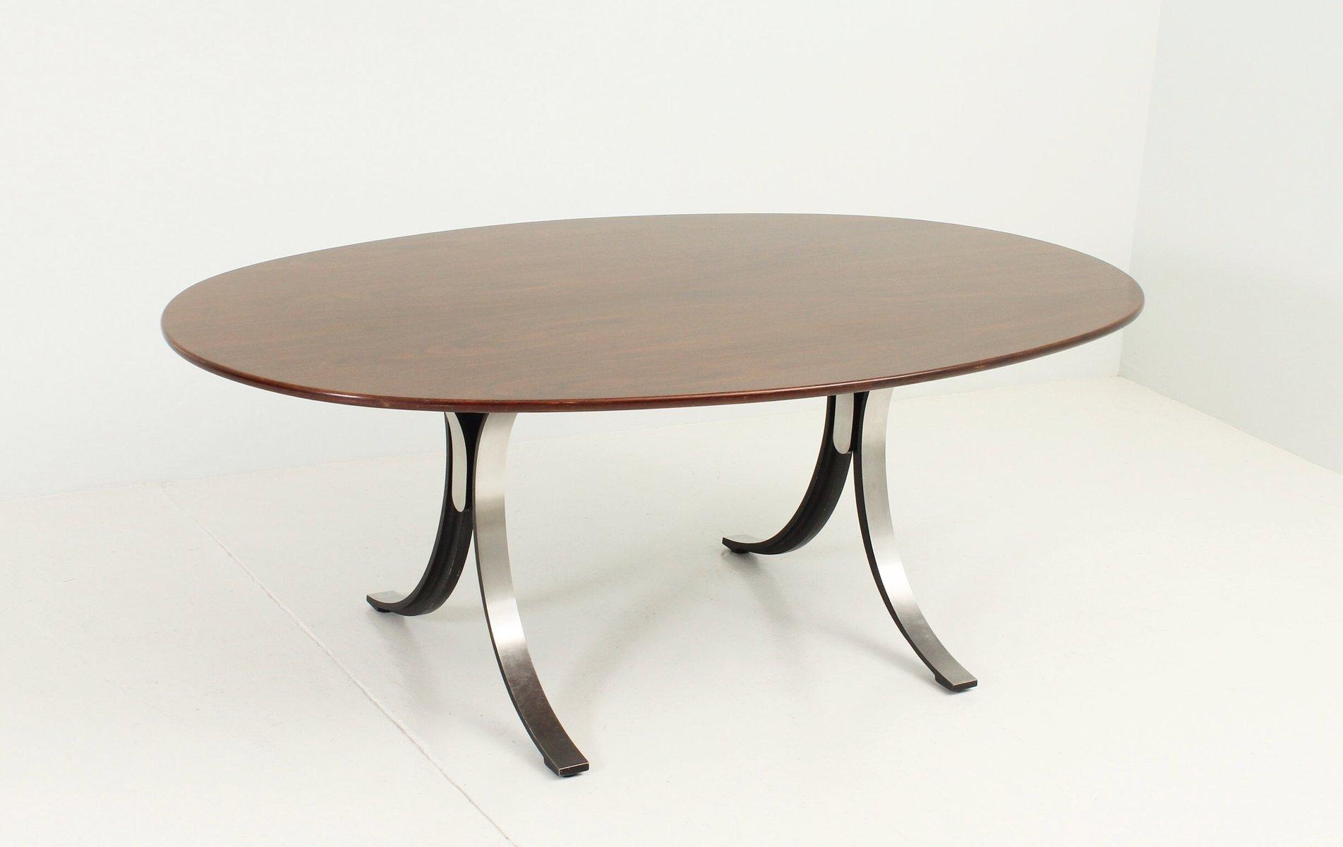 ta oval table by osvaldo borsani  eugenio gerli for tecno  - ta oval table by osvaldo borsani  eugenio gerli for tecno s