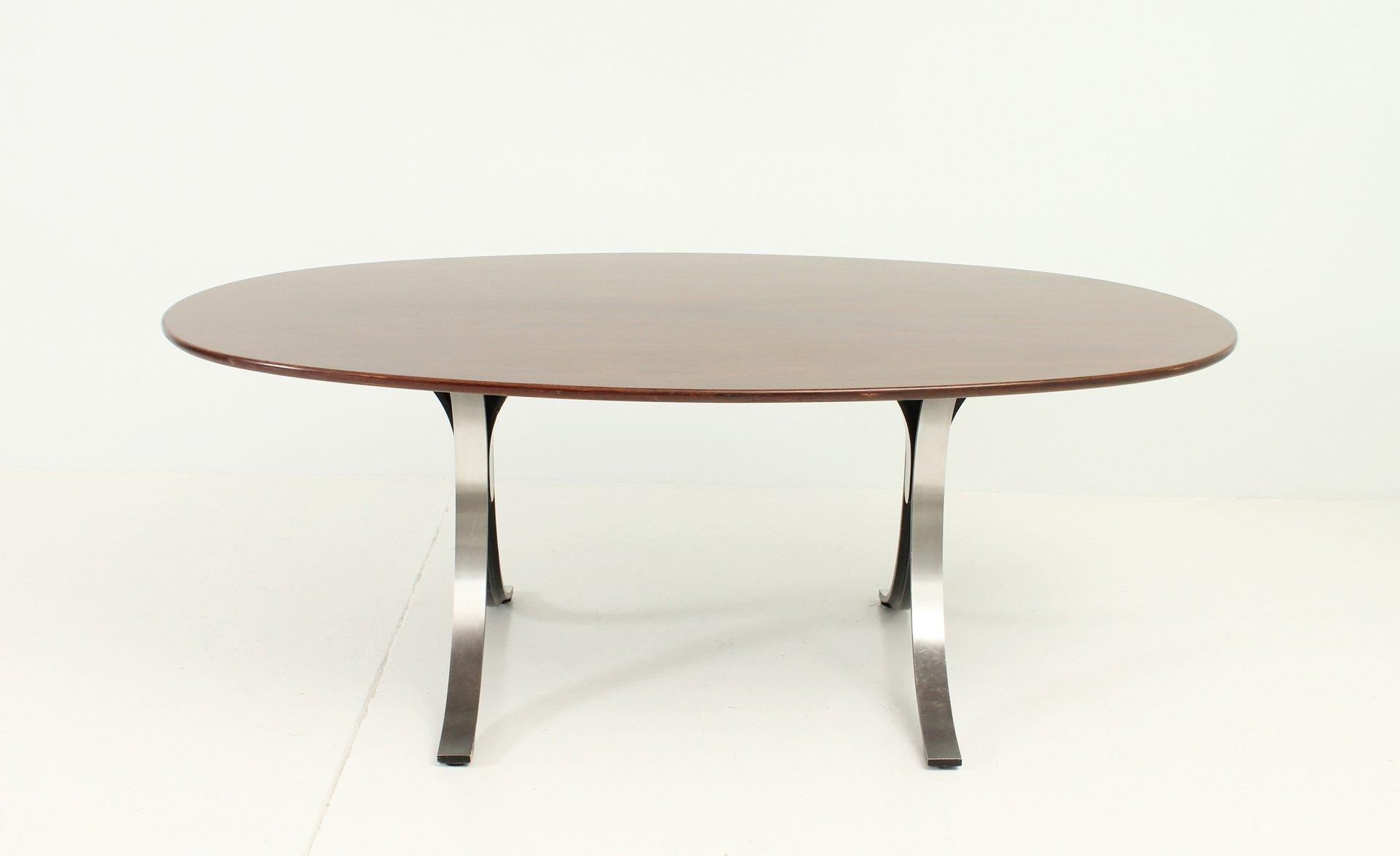 ovaler tisch t102a von osvaldo borsani eugenio gerli f r. Black Bedroom Furniture Sets. Home Design Ideas