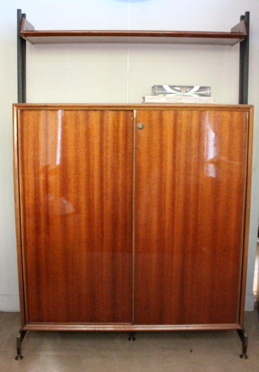 Italian mahogany cabinet 1950s for sale at pamono for Italian cabinets