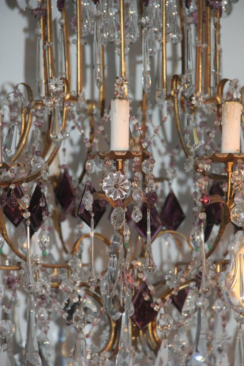 Chandelier From Baccarat 1930 For Sale At Pamono