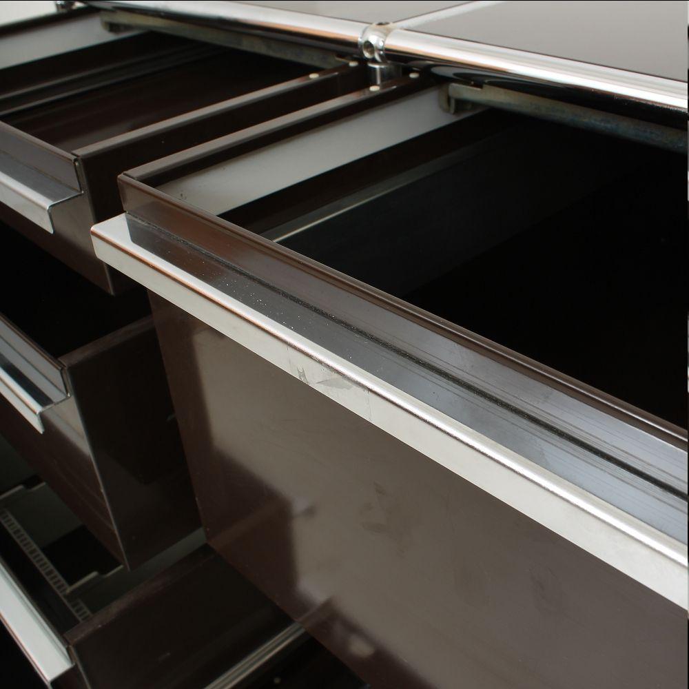 schreibtisch aus metall kunststoff von usm haller bei pamono kaufen. Black Bedroom Furniture Sets. Home Design Ideas