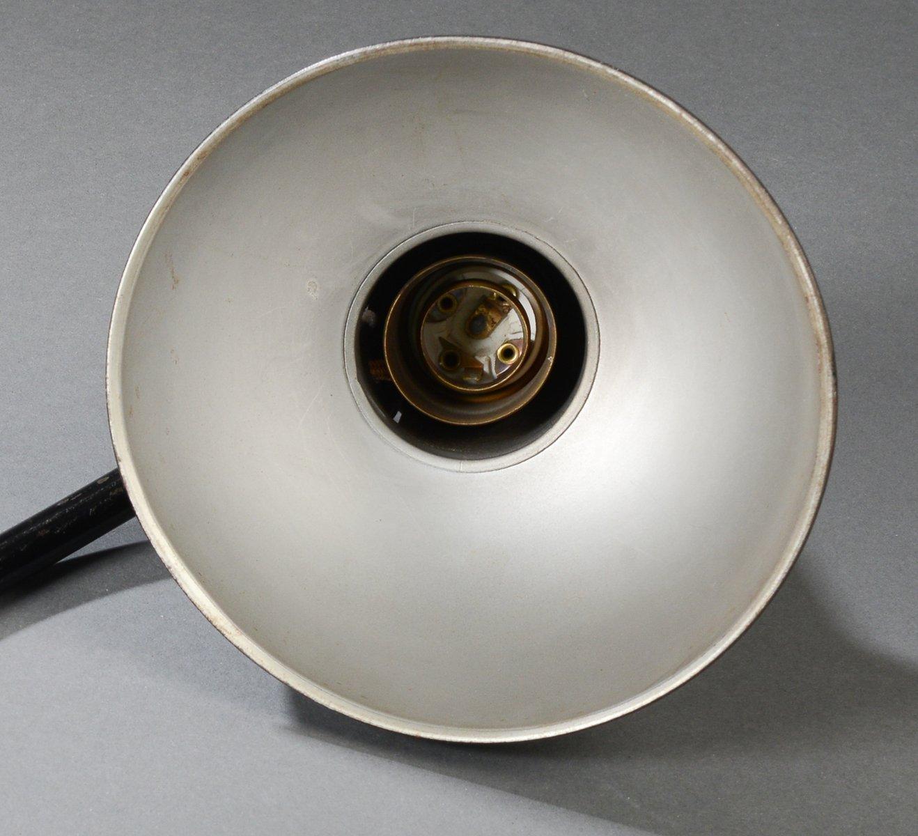 model 6556 lamp by christian dell for kaiser leuchten. Black Bedroom Furniture Sets. Home Design Ideas