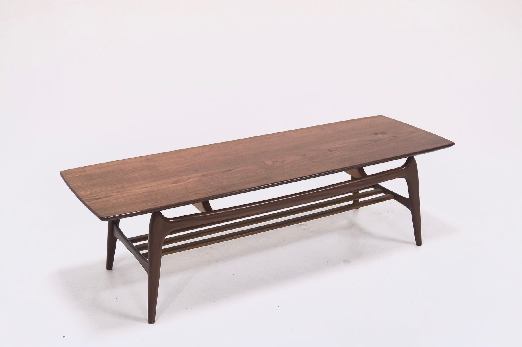 Vintage Teak Coffee Table By Louis Van Teeffelen For W B For Sale At Pamono