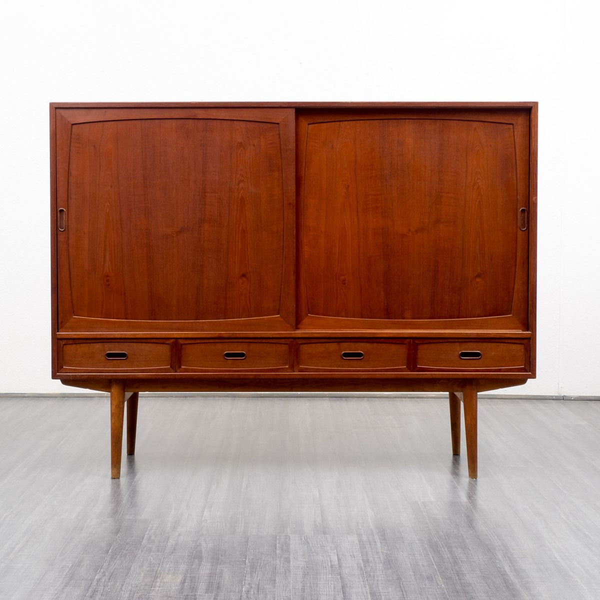 Mid century scandinavian teak sideboard 1960s for sale at for Sideboard scandi