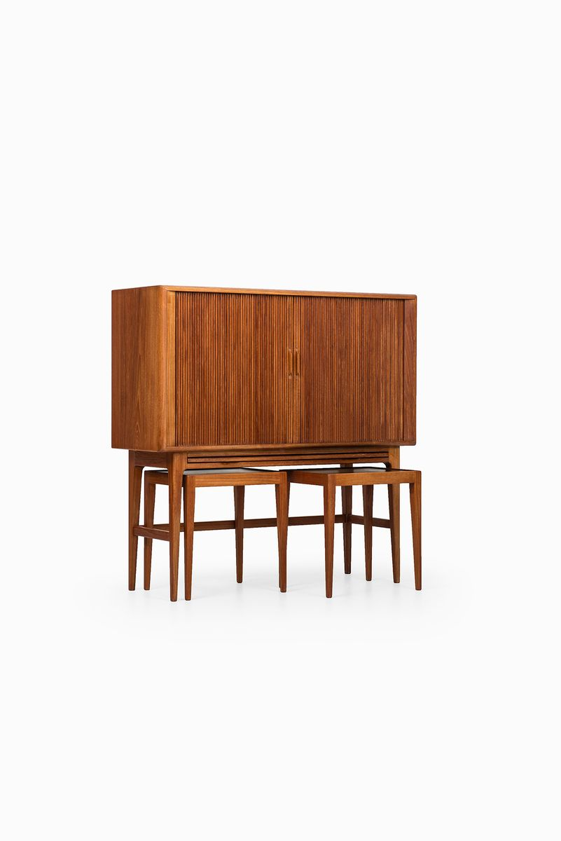 Bar Cabinet with Side Tables by Kurt ?stervig for K.P M?bler, 1950s ...