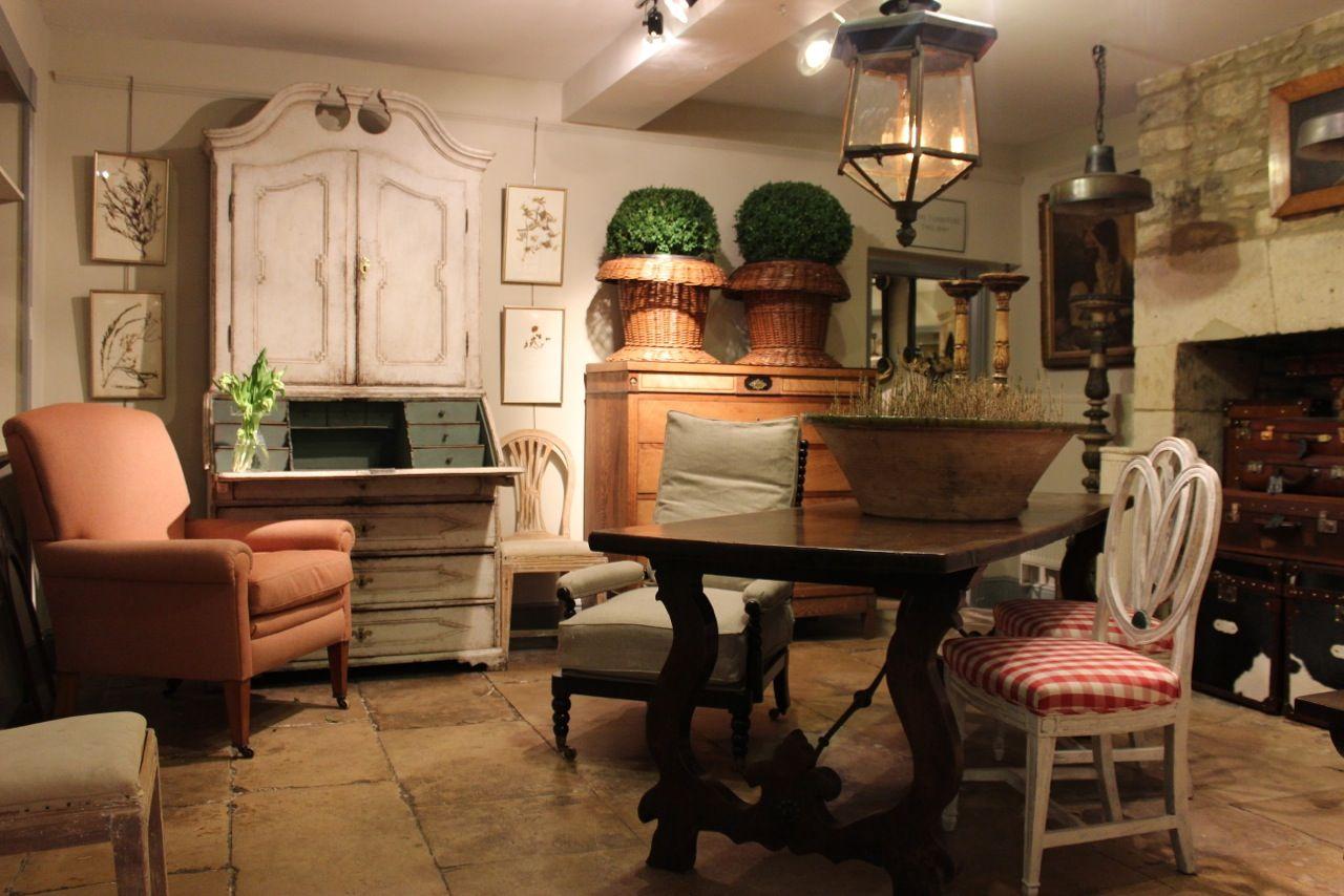Antique Swedish Bureau Cupboard, 1800s for sale at Pamono