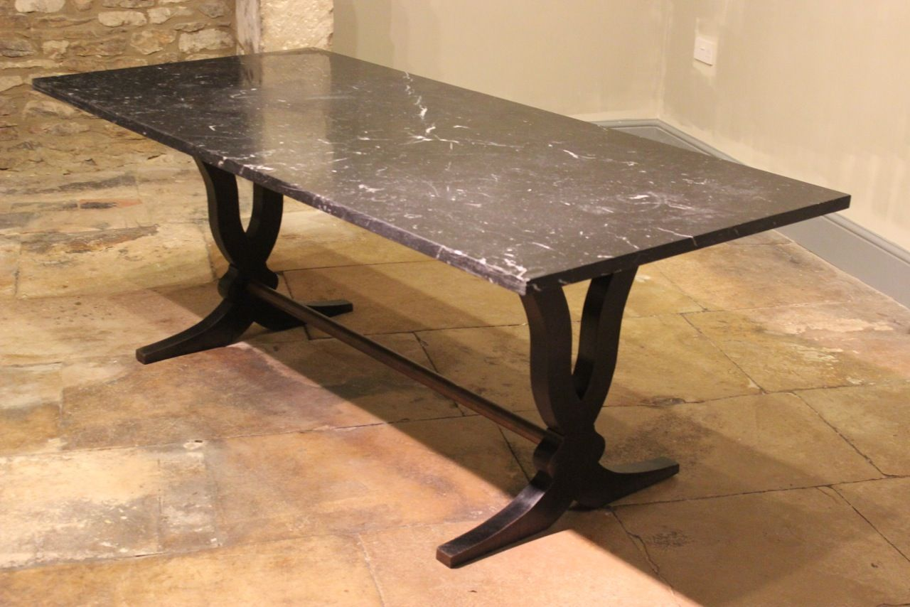 large art deco dining table with marble top art deco dining furniture