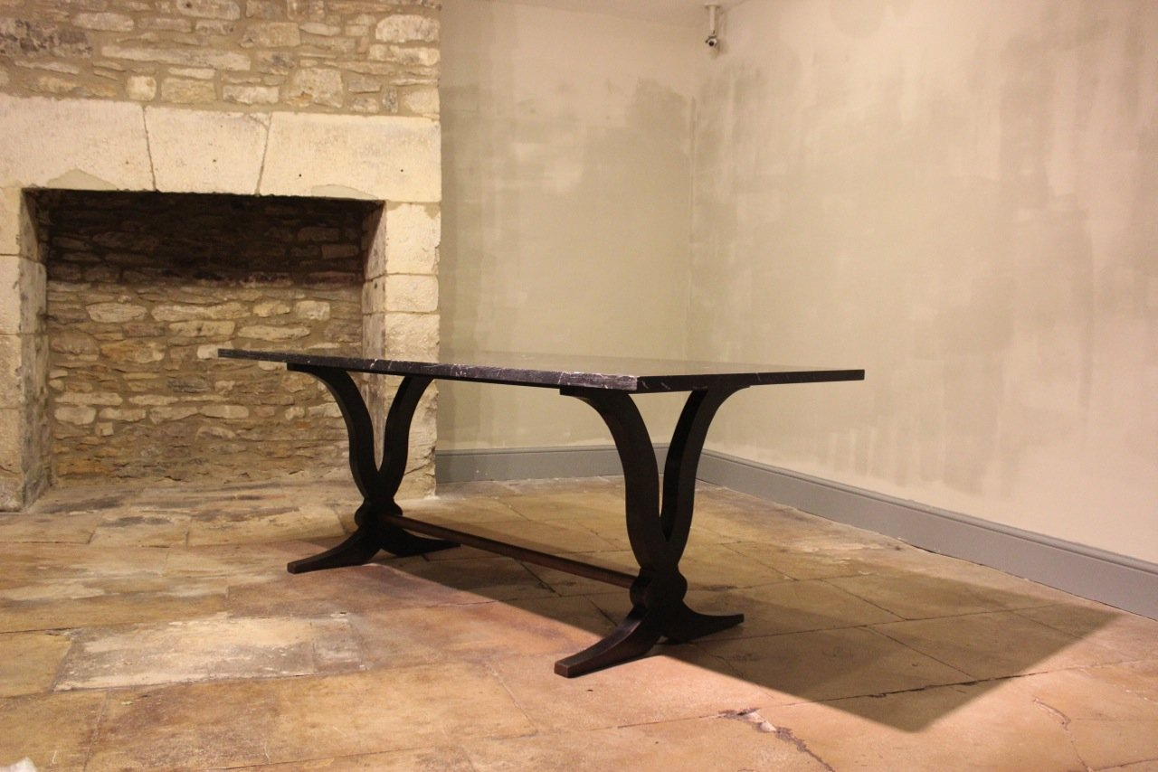 large art deco dining table with marble top art deco dining 7