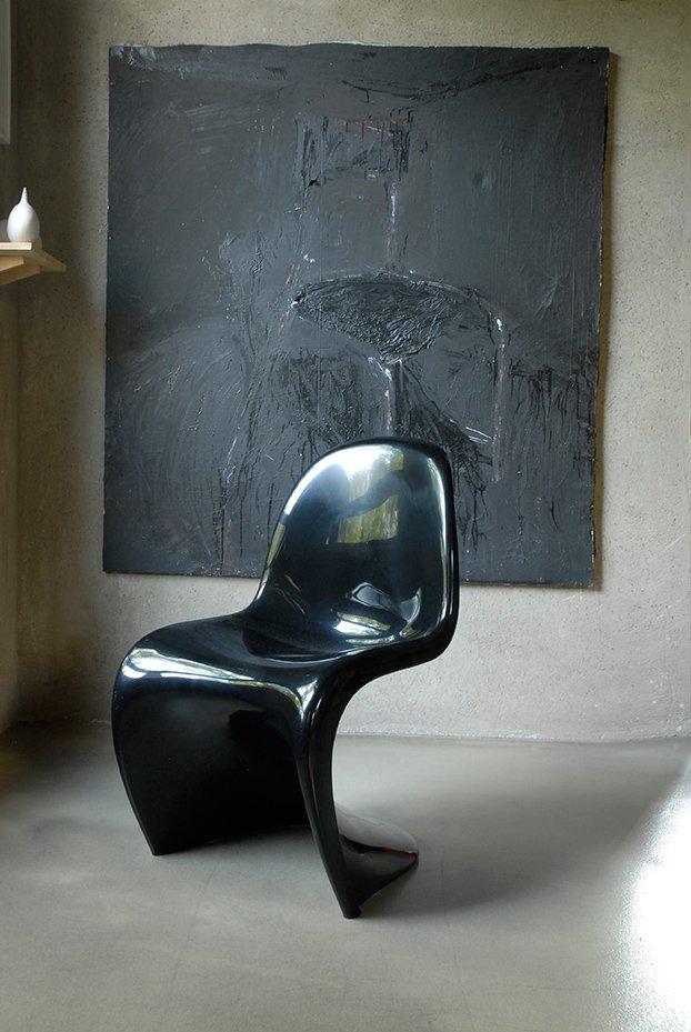 modell panton stuhl von verner panton f r herman miller and vitra 1976 bei pamono kaufen. Black Bedroom Furniture Sets. Home Design Ideas