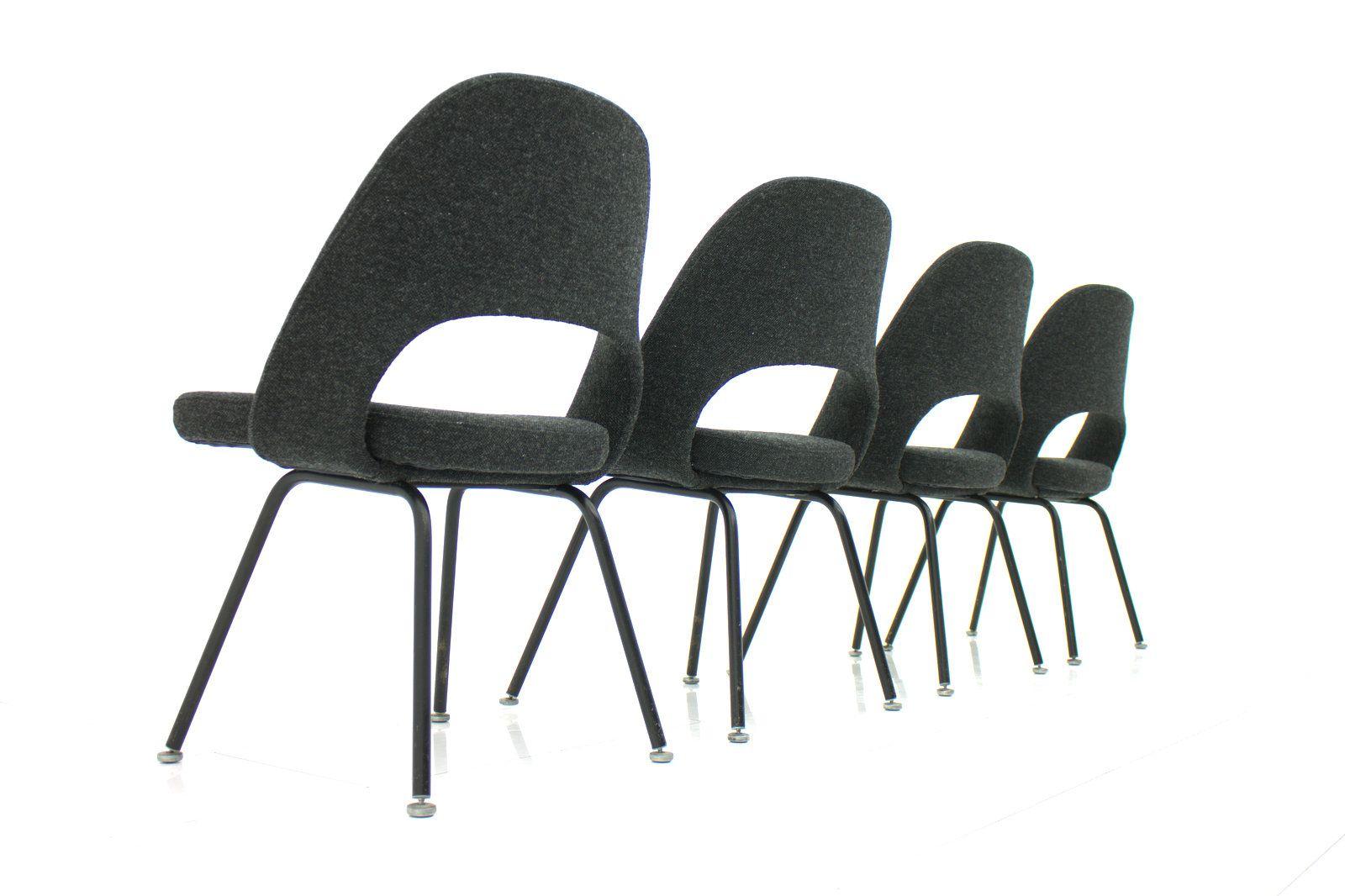 mod 71 st hle von eero saarinen f r knoll international 1960er 4er set bei pamono kaufen. Black Bedroom Furniture Sets. Home Design Ideas