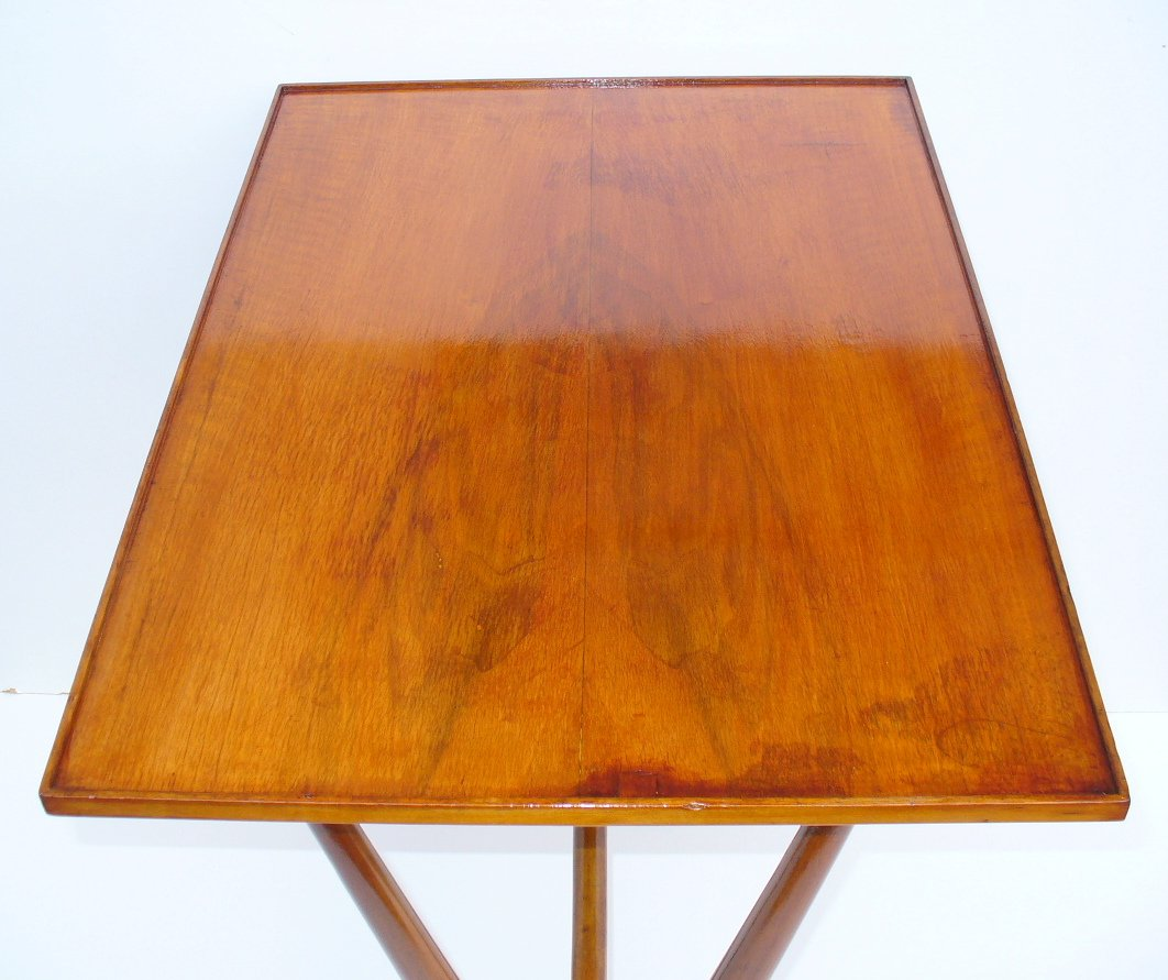 Wooden Side Table Wooden Side Table 1950s For Sale At Pamono