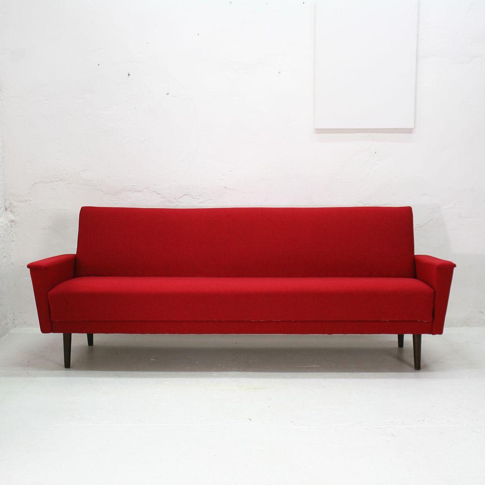 modernes mid century schlafsofa 1960er bei pamono kaufen. Black Bedroom Furniture Sets. Home Design Ideas