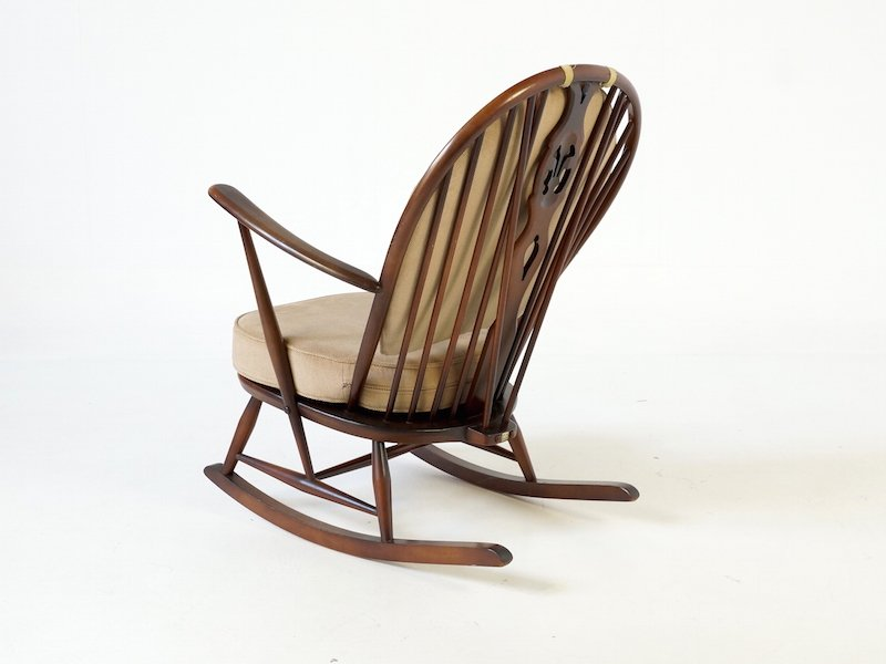 Fleur De Lys Rocking Chair By Ercol For Sale At Pamono