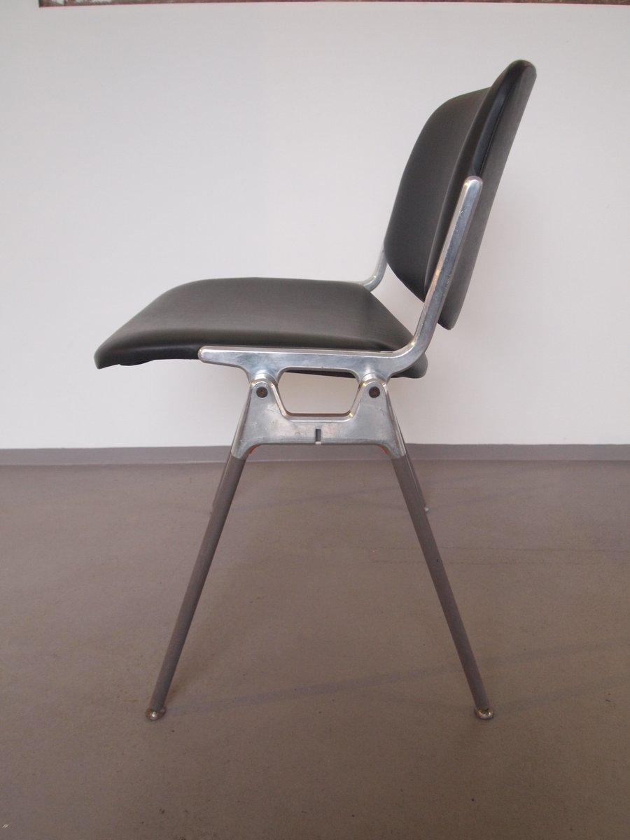 modell dsc 106 st hle von giancarlo piretti f r castelli 2er set bei pamono kaufen. Black Bedroom Furniture Sets. Home Design Ideas
