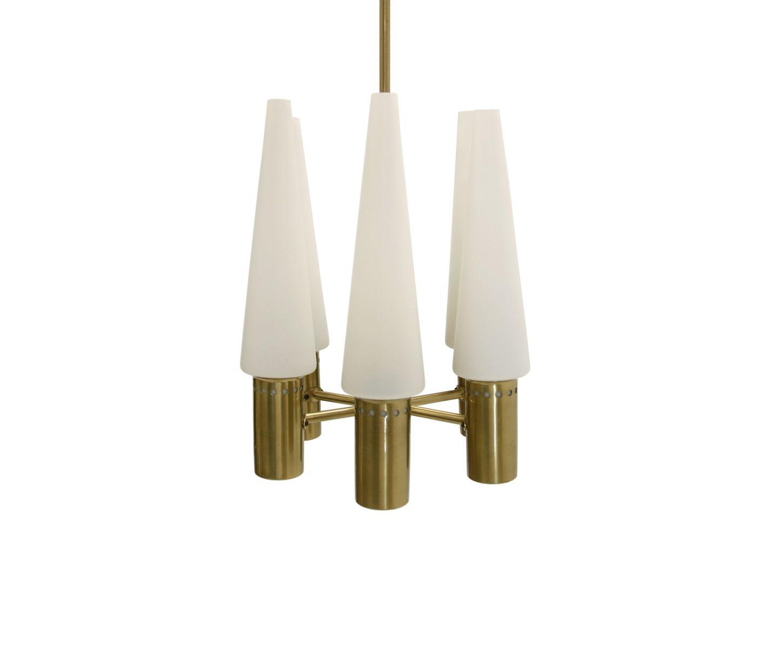brass chandelier by hans agne jakobsson 1960s for sale at. Black Bedroom Furniture Sets. Home Design Ideas