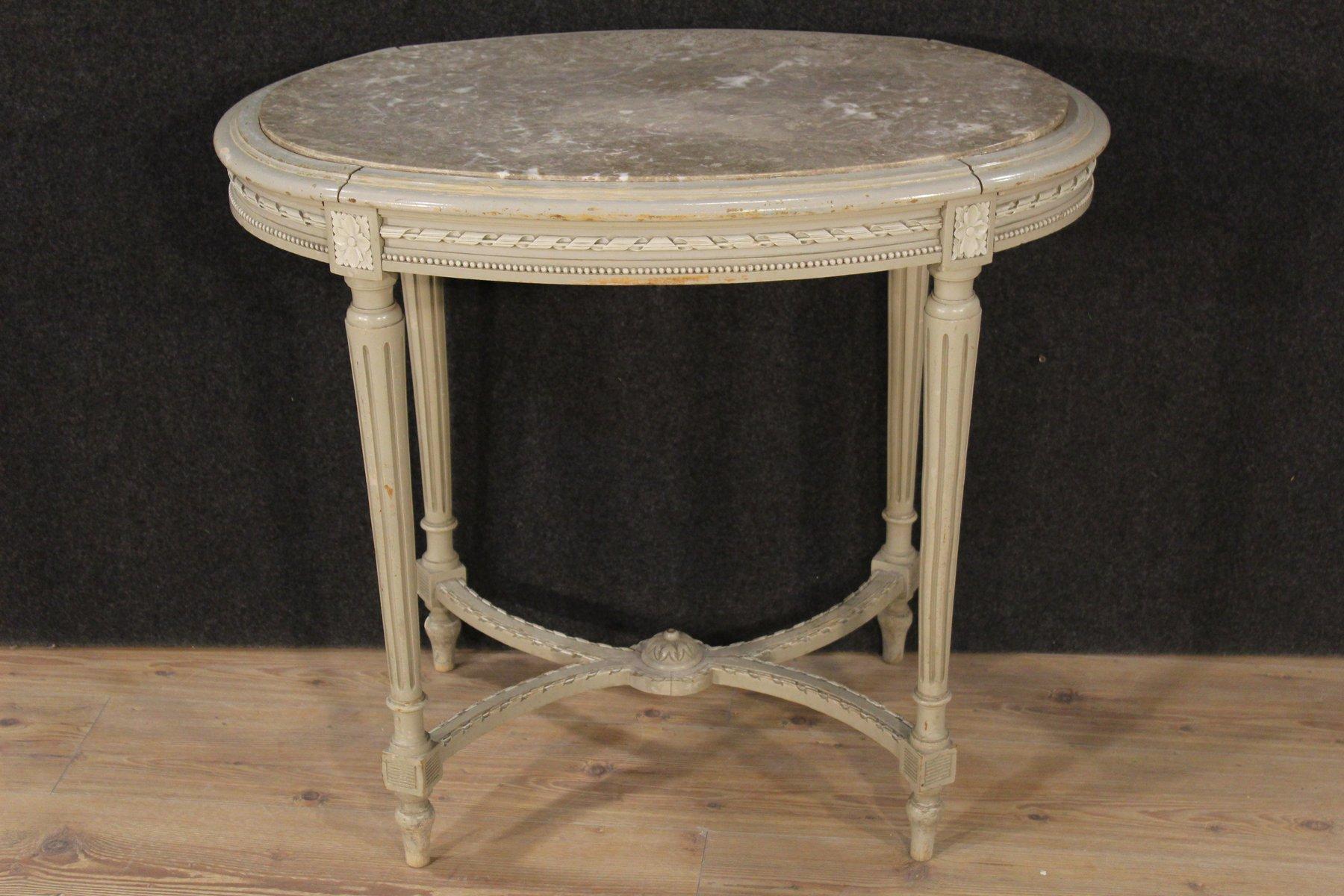 Table Basse de Style Louis XVI en Bois Laqué en vente sur Pamono -> Able Basse Louis Xvi