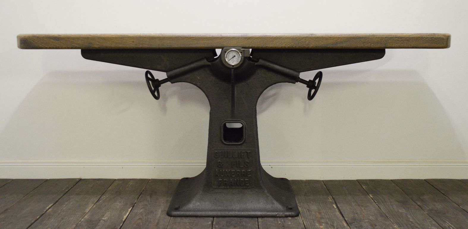 Industrial console table from guilliet et fils for sale at for Table franco et fils