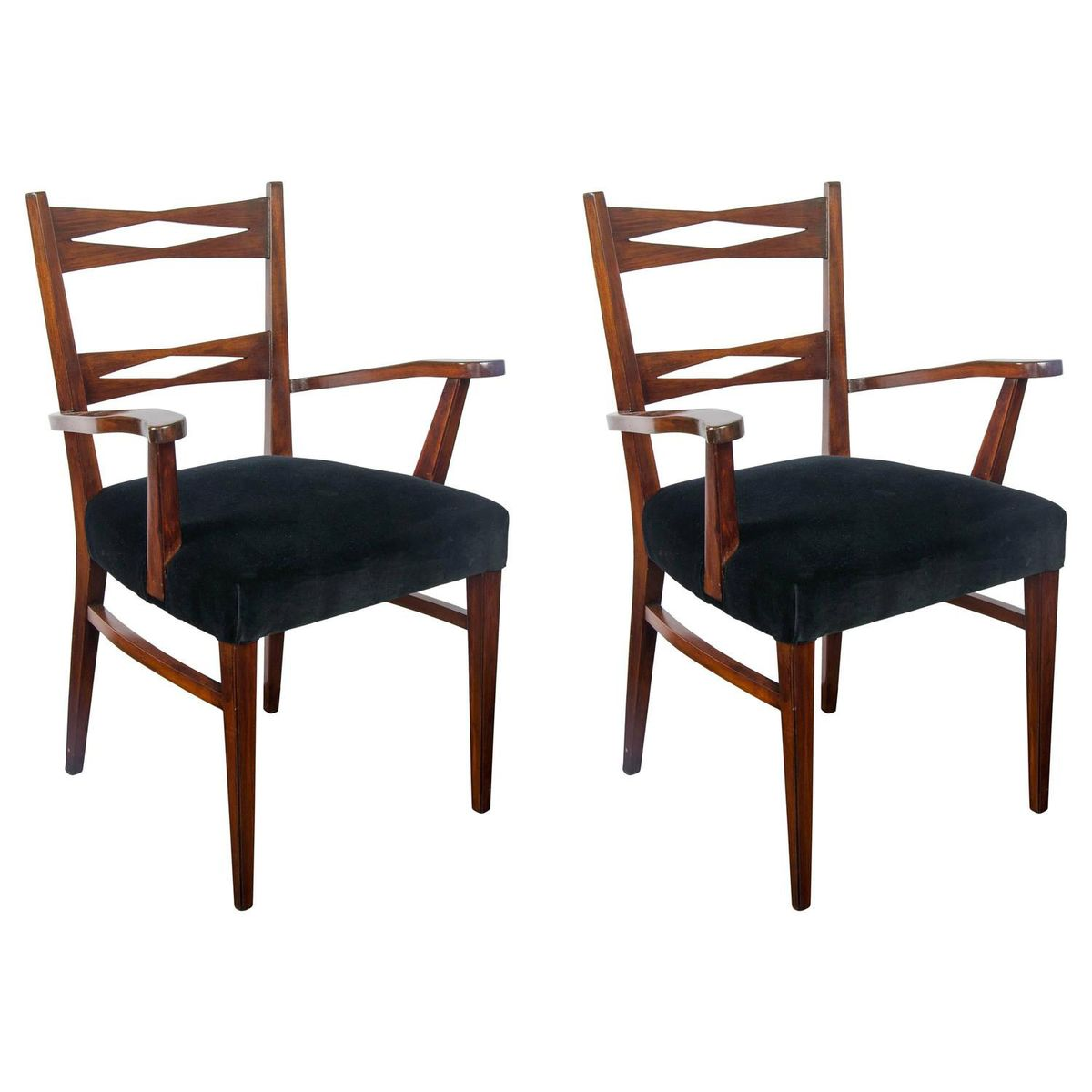 italian armchairs 1940s set of 2 for sale at pamono