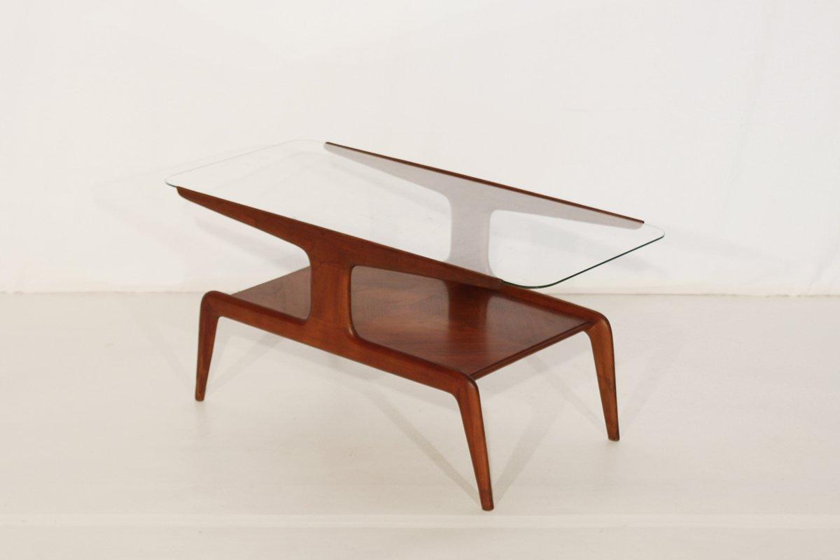 Table basse miami bois vintage et verre for Table basse en verre et bois