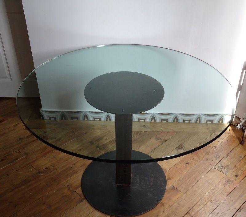 Esstisch Mit Glasplatte Kaufen: Design esstisch mit wei?er glasplatte ...