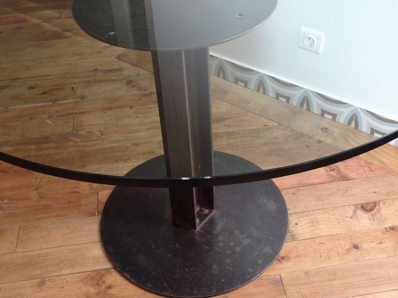 esstisch mit glasplatte kaufen das beste aus wohndesign. Black Bedroom Furniture Sets. Home Design Ideas