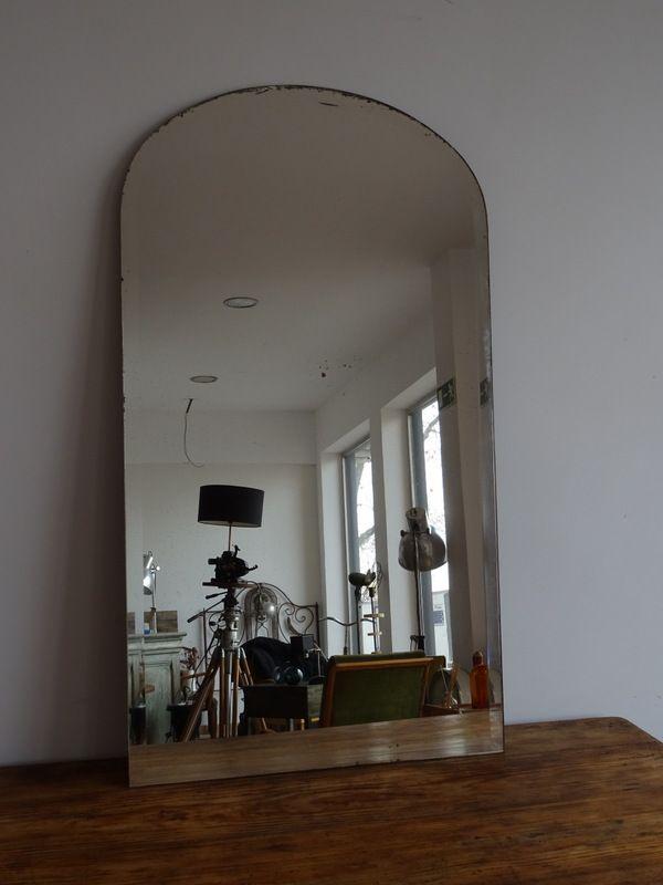 gro er franz sischer vintage spiegel bei pamono kaufen. Black Bedroom Furniture Sets. Home Design Ideas