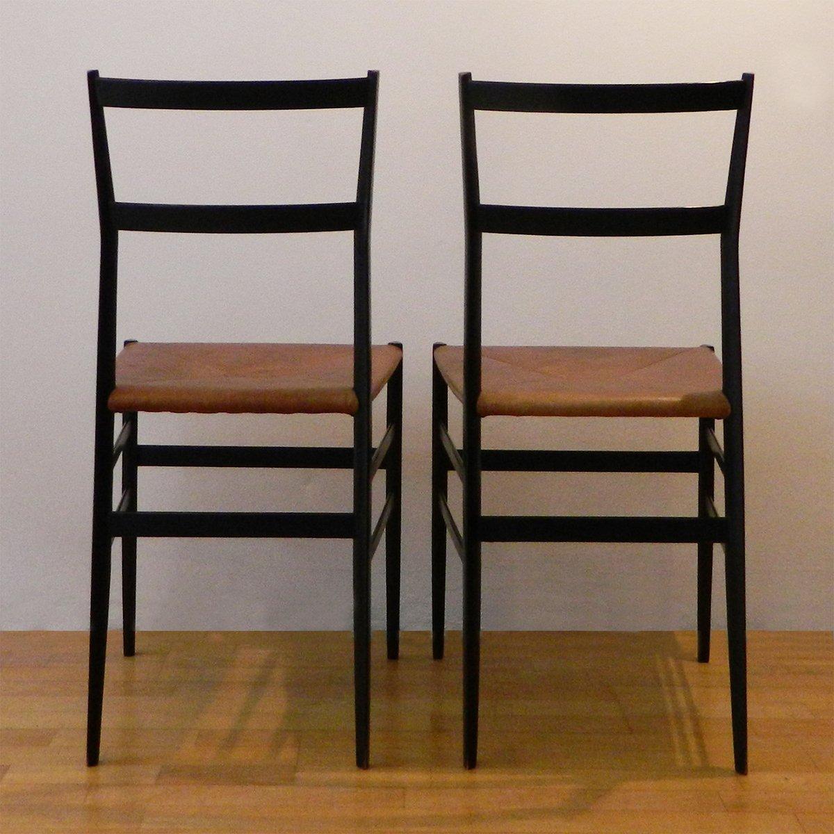 Chiavari Chairs Weight Limit By Superleggera Leather Gio Ponti For Cassina Set