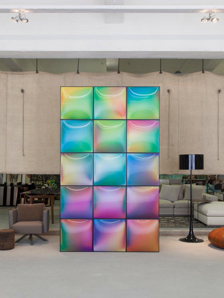 p o v wandpaneele aus kunststoff und metall von dhph bei pamono kaufen. Black Bedroom Furniture Sets. Home Design Ideas