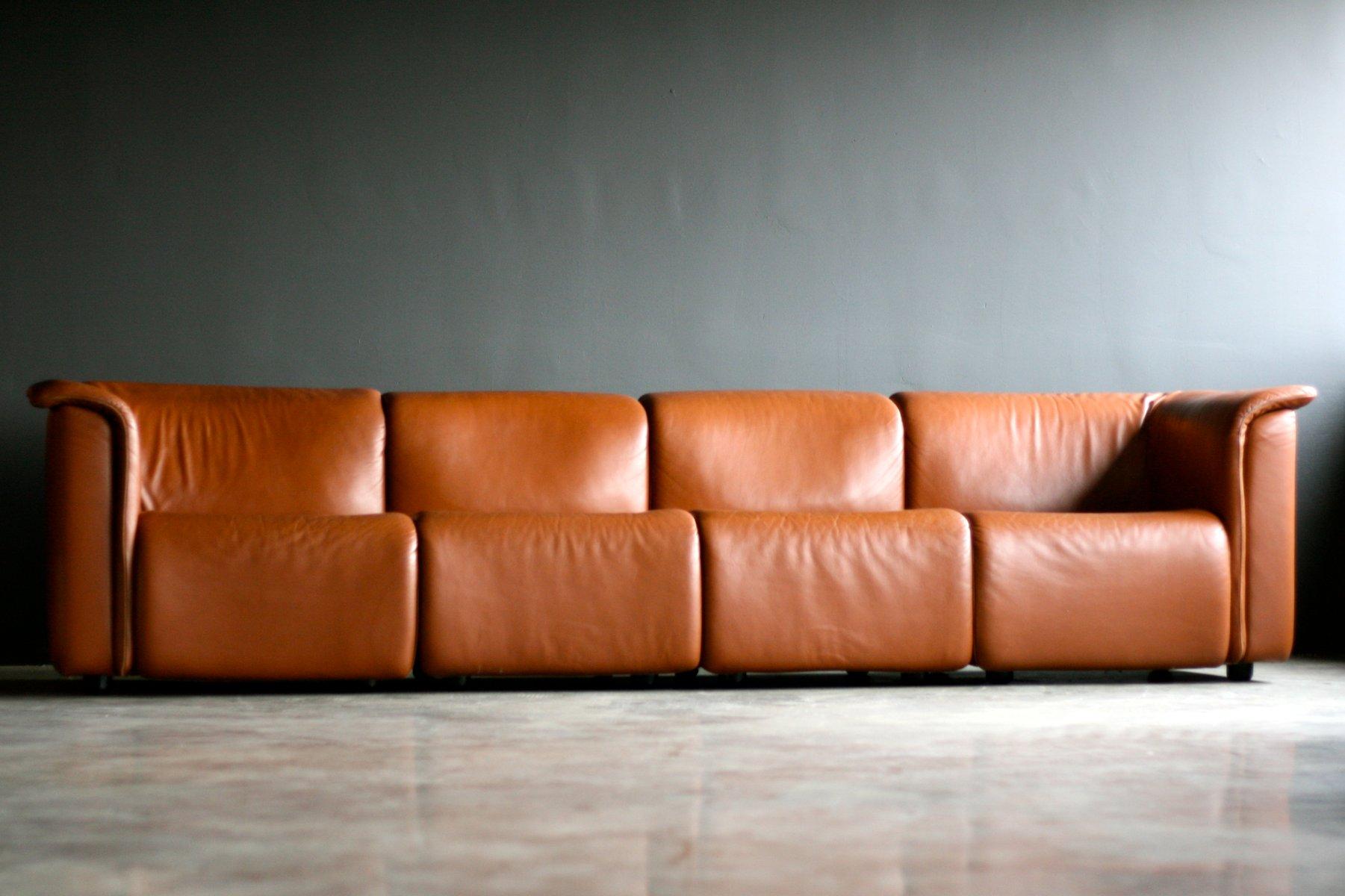 Modular Sofa from Wittmann Moebelwerkstaetten for sale at Pamono