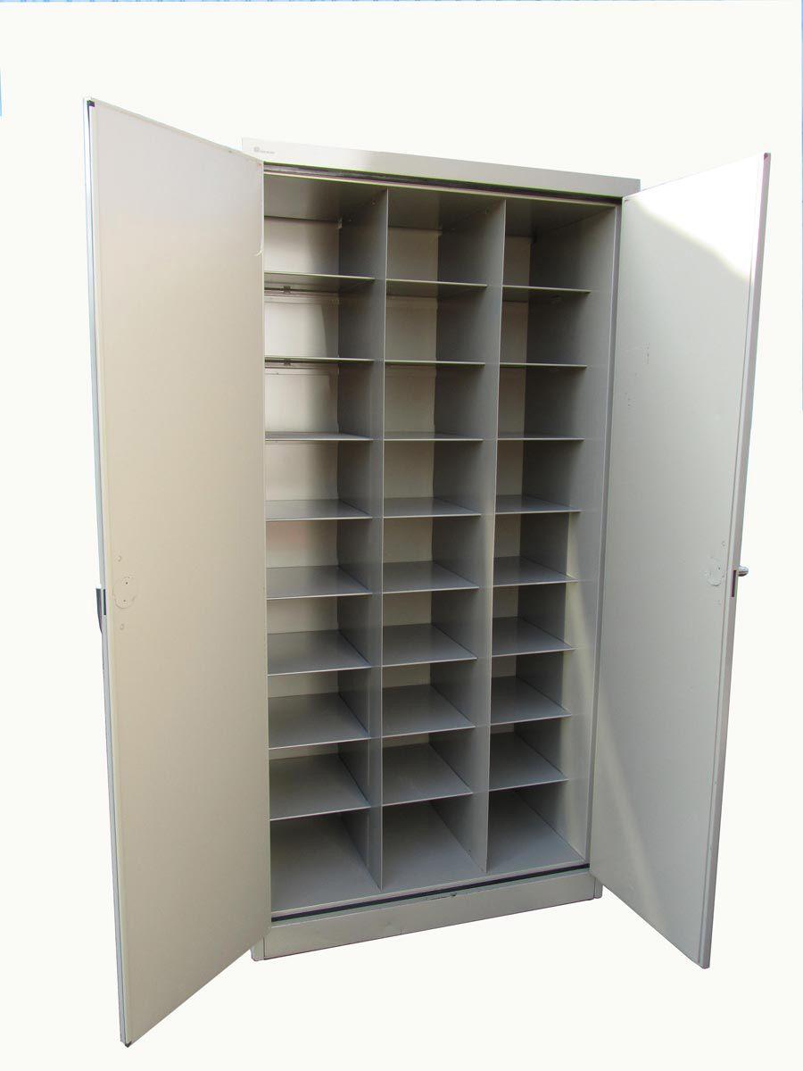 Belgian Industrial Vintage Locker From Mewaf, 1970s