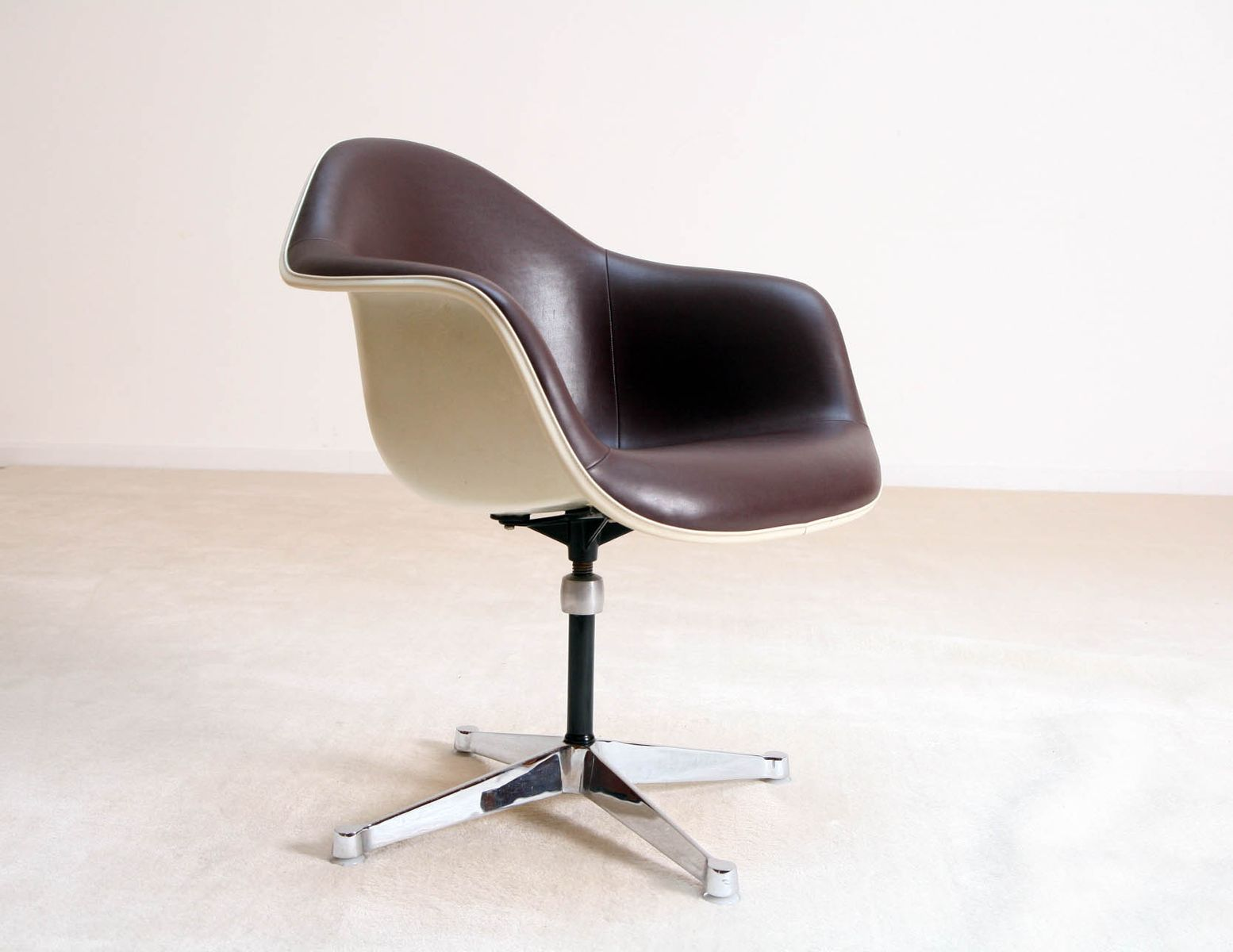 Fiberglass Chair by Charles and Ray Eames for Herman