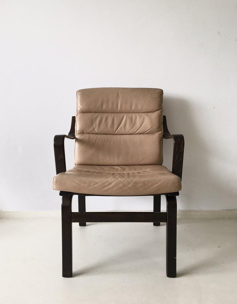 schwedischer vintage armlehnstuhl aus bugholz von g m bel bei pamono kaufen. Black Bedroom Furniture Sets. Home Design Ideas